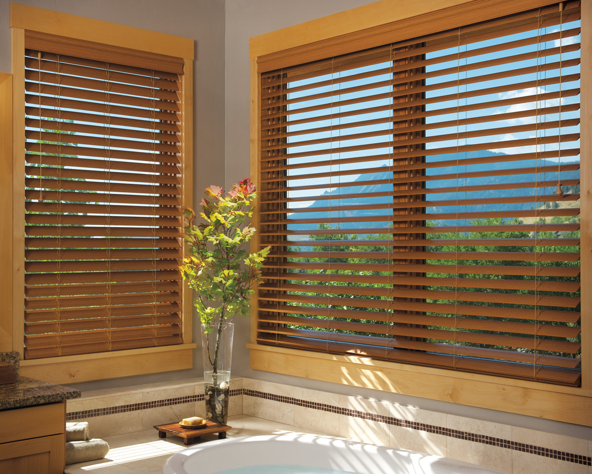 Faux Wood Windows : Faux wood blinds new york city