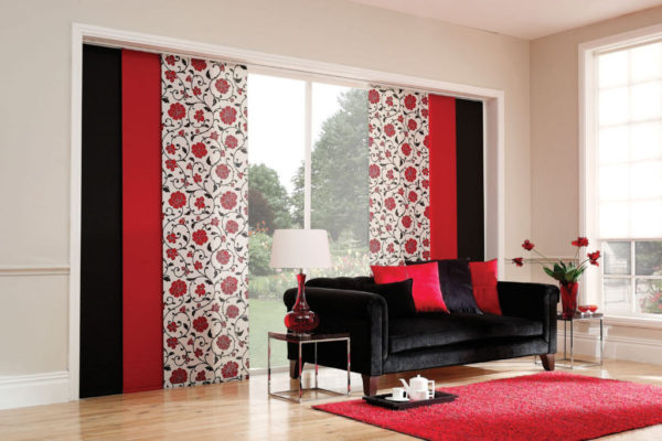 Curtains Ideas curtain panel styles : Sliding Panel Window Blinds, New York City