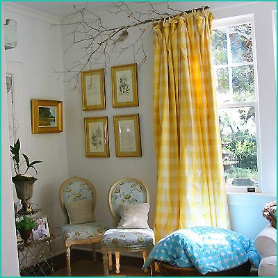 creative window treatments -the nester