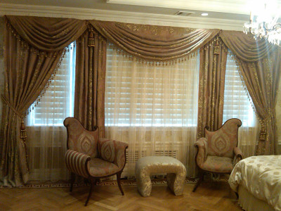Motorized curtains and drapes The Shade Company 10