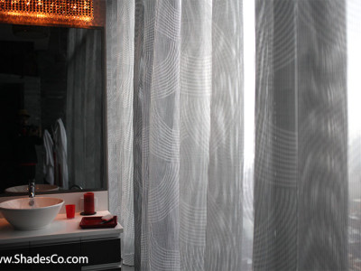 Motorized curtains and drapes The Shade Company 6