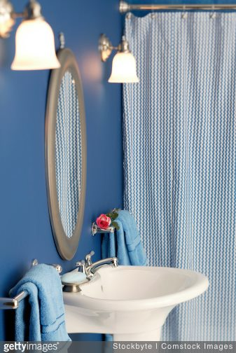 4 Rational Reasons to Use Drapery Instead of a Shower Curtain | The Shade Company 2