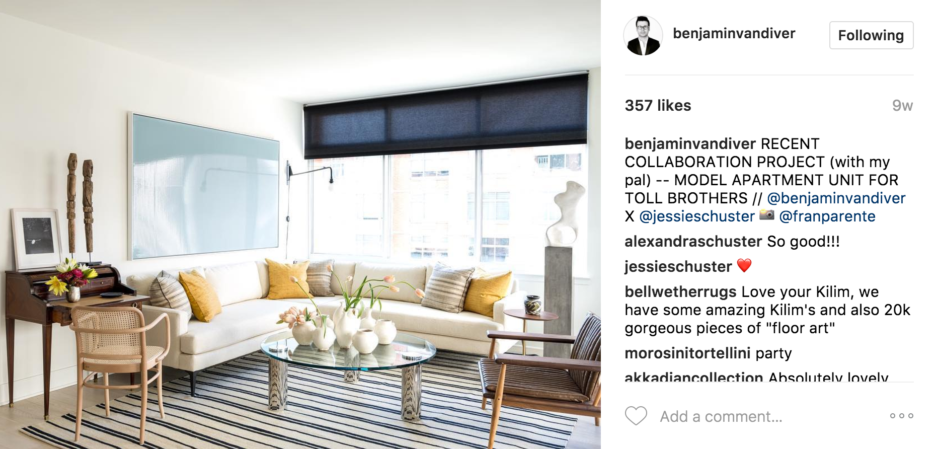 The 7 Best NYC Interior Designers On Instagram